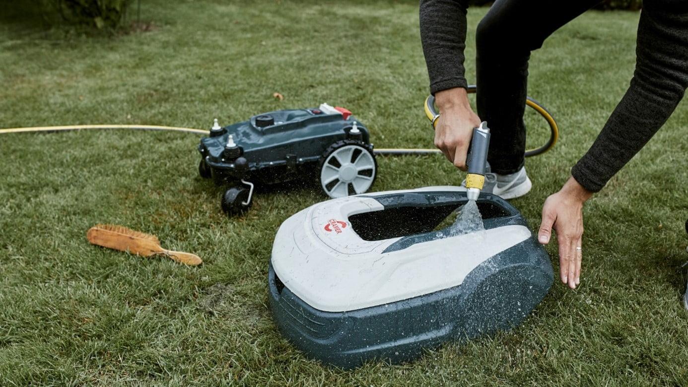 Robot grasmaaier Onderhoud